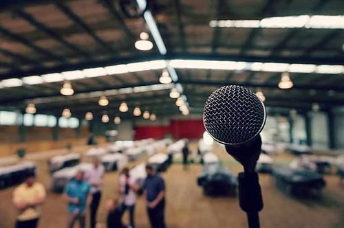 microphone, mic, speaker