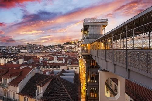 Unique Experiences in Lisbon Portugal - Santa Justa Elevator | Winetraveler.com