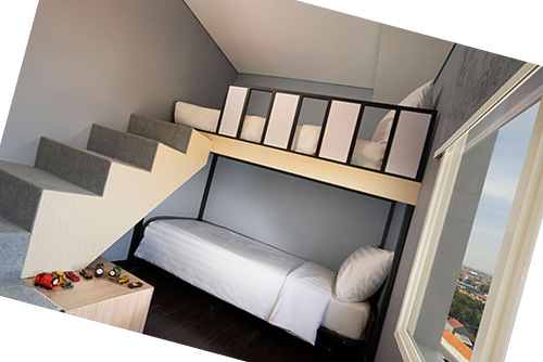 Familly Room Batiqa Hotel Surabaya