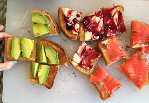 Breakfast ideas - Sandwiches for breakfast