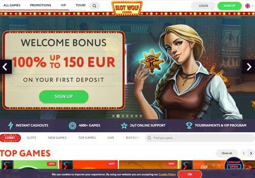 Slot Wolf Casino revision