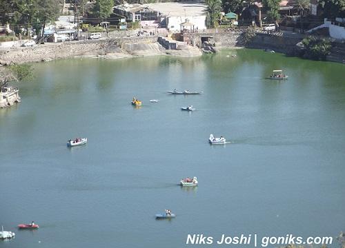 Aerial View of Nakki Lake