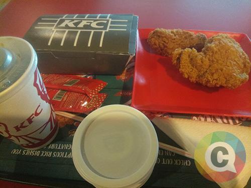 Paket KFC entah apa namanya