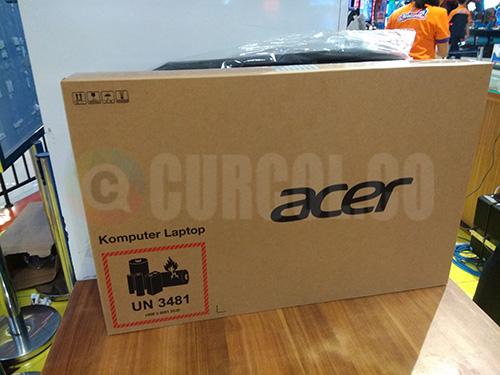 Penampakan boks Acer Aspire A314-32-C3X0