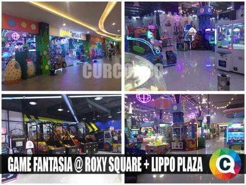 Game Fantasia Roxy Square dan Lippo Plaza