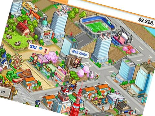 tampilan game venture towns
