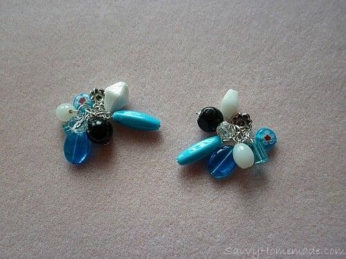 Make a clustered necklace Step 11