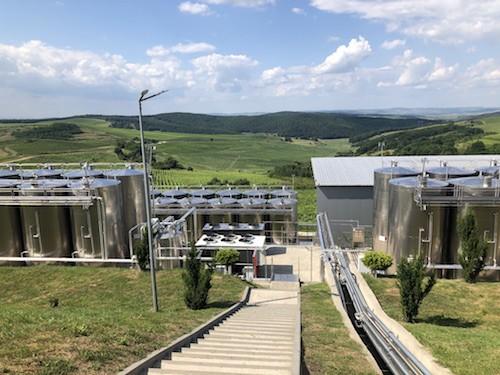 Jidvei Winery Production Facility