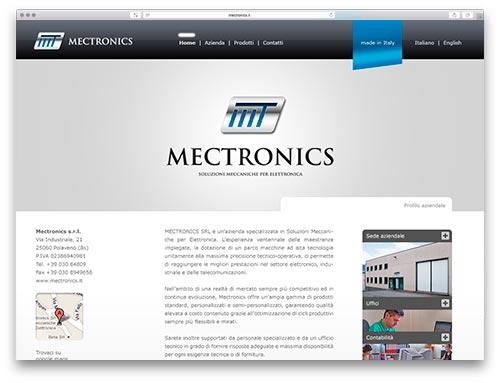 Siti Web Brescia - Sito Web Mectronics