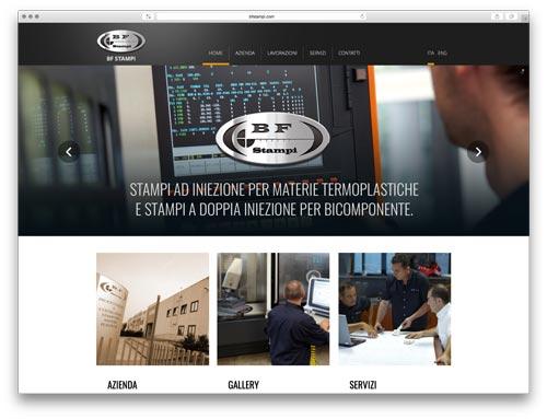 Sviluppo Siti Web Brescia - Sito Web BF Stampi