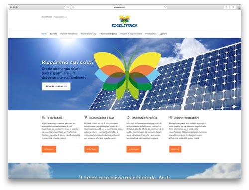 Siti Internet Brescia - Sito Web Ecoelettrica