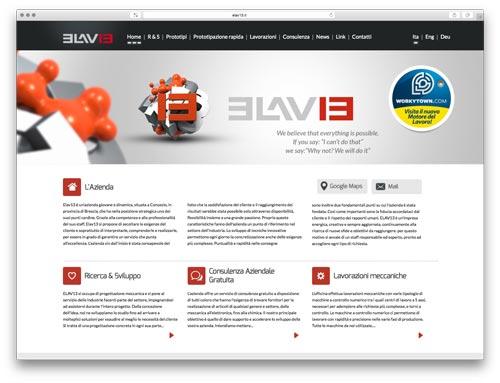 Realizzazione Siti Internet Brescia - Sito Web Elav13