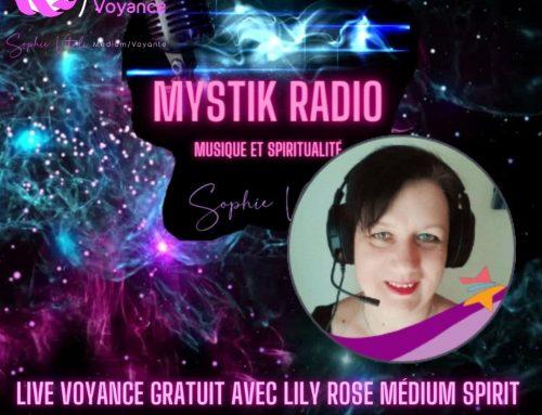 Voyance gratuite avec Lily Rose médium spirit en direct sur Mystik Radio 09.03.2021