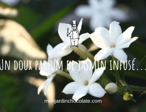 Un doux parfum de jasmin infusé …