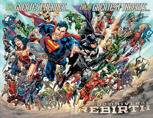 Menuju Akhir Era DC Rebirth