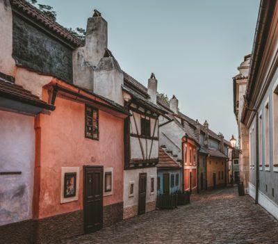 Prague's tiny golden lane