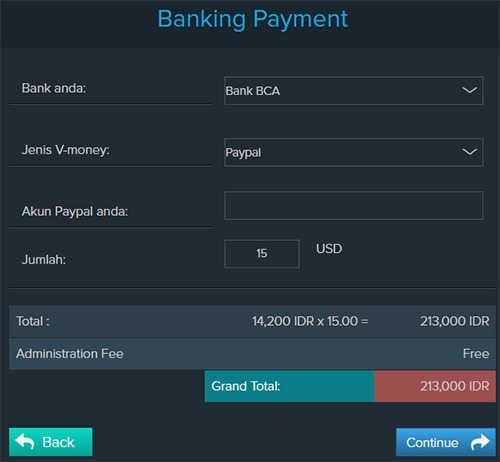 Cara Mengisi Saldo Paypal Lewat ATM / Internet Banking Bank Lokal