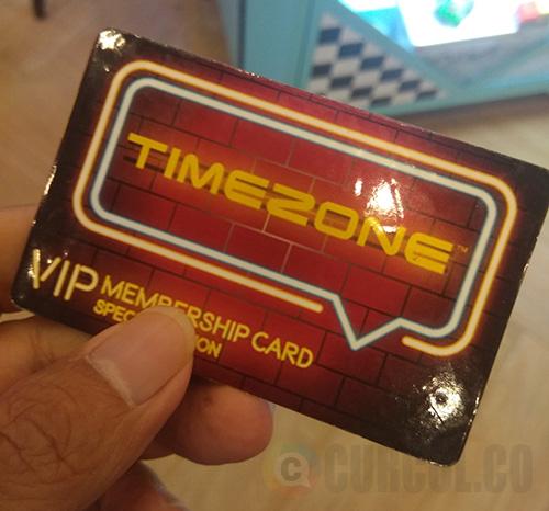 Penampakan VIP Card Timezone