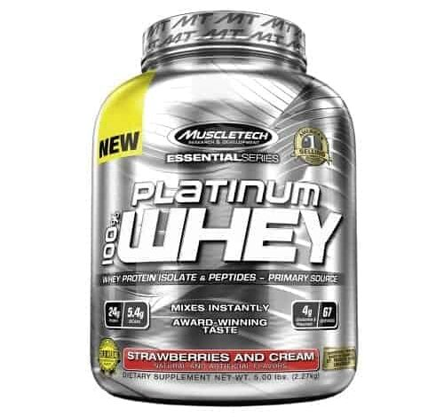 Muscletech Platinum Whey - Review