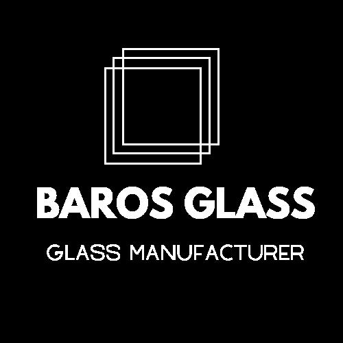 baros glass white logo