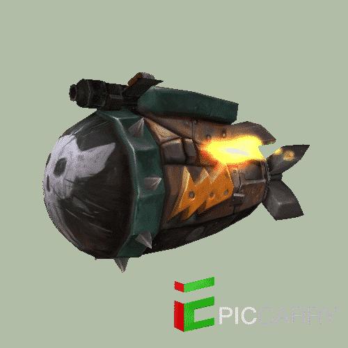 Depleted Kyparium Rocket