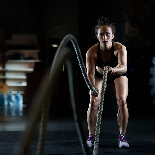 battle rope for abs