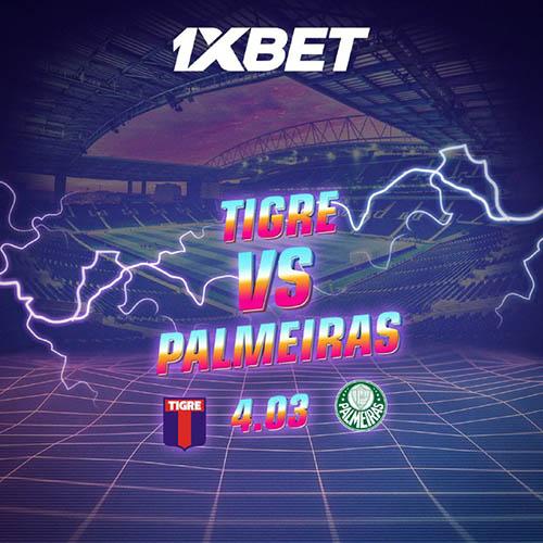 Ganhe dinheiro com a Libertadores - Tigres x Palmeiras