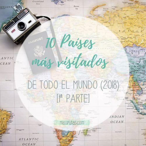 paises mas visitados del mundo