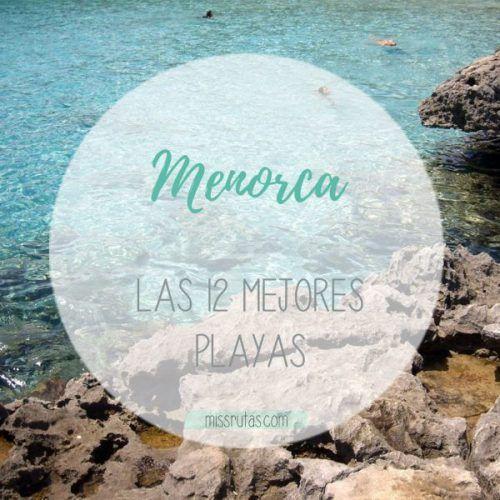 portada de las Mejores playas de Menorca