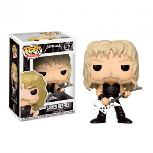 Funko Pop James Hetfield Metallica 57