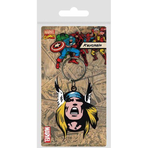 Portachiavi Thor Marvel in gomma