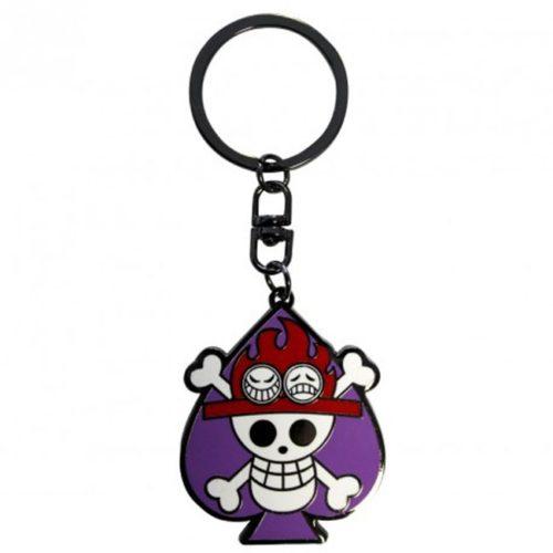 portachiavi skull ace one piece