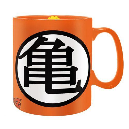 tazza Arancione con stemma Dragon Ball Z