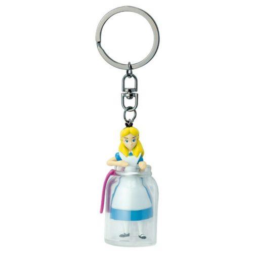Portachiavi Alice nella bottiglia Alice nel paese delle meraviglie Disney