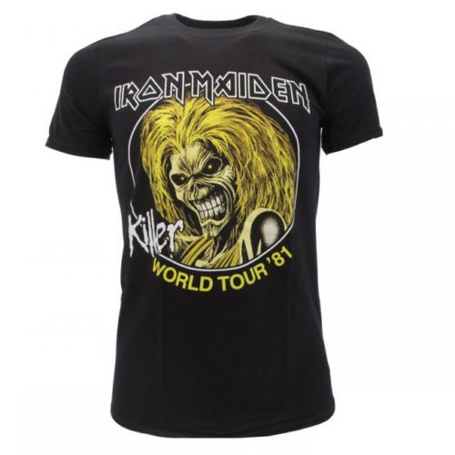 t-shirt Iron Maiden World Tour 81