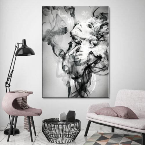 Obraz na plotnie Abstrakcja Dym