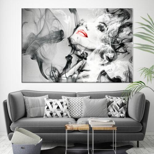 Obraz na plotnie Madame Abstrakcja