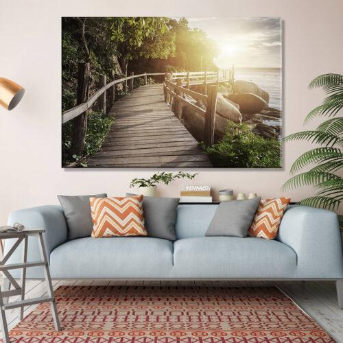 obrazy na płótnie morze plaża - Egzotyka