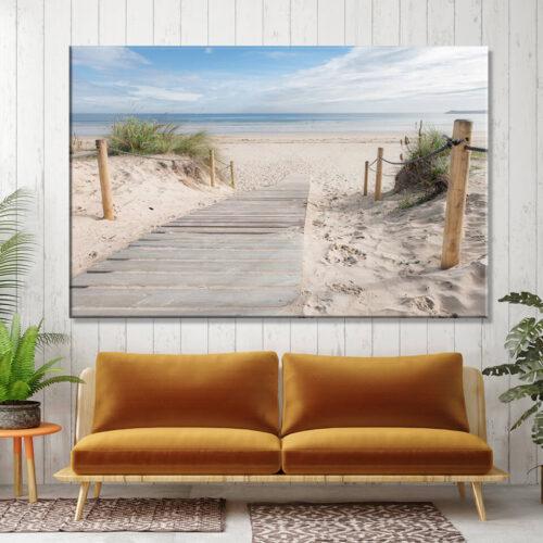 Krajobrazy i pejzaże morskie - obrazy na płótnie