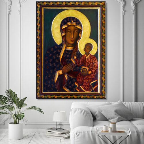 obraz na płótnie Matka Boska