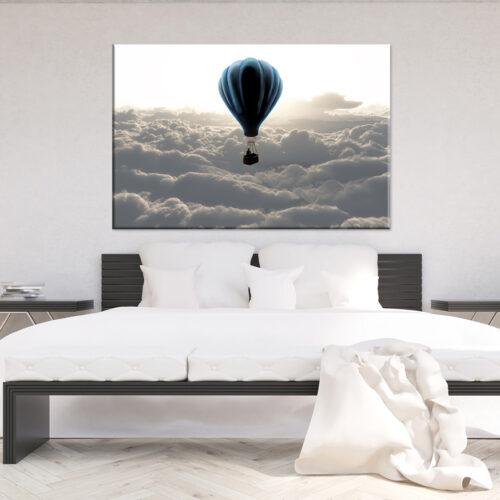obraz na płótnie Nad chmurami