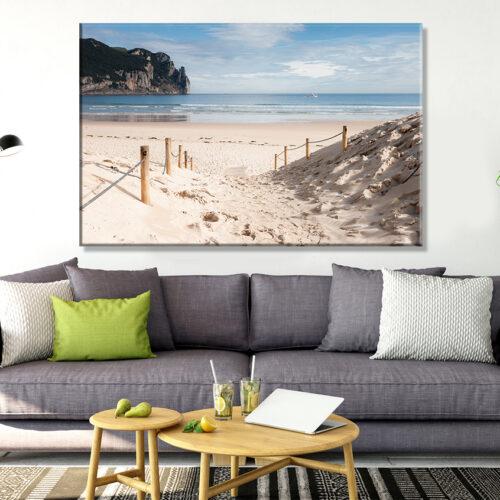 obraz na płótnie Wakacje na Plaży