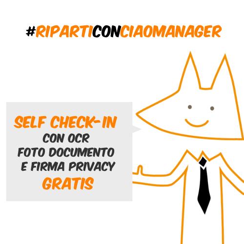 Ciaomanager Promozione Self check-in