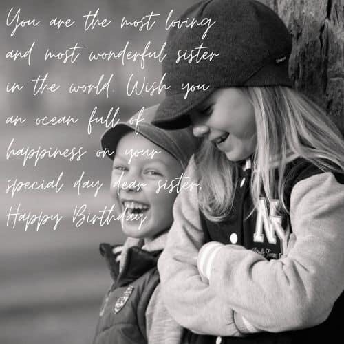 birthday wsih for elder sister