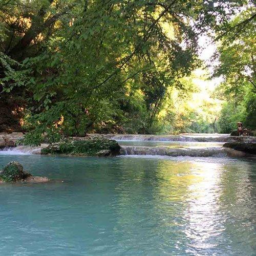 escursione fiume elsa