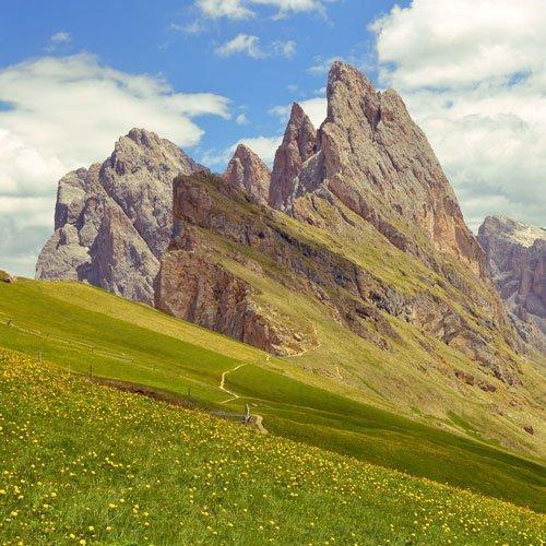 viaggio trekking gardena