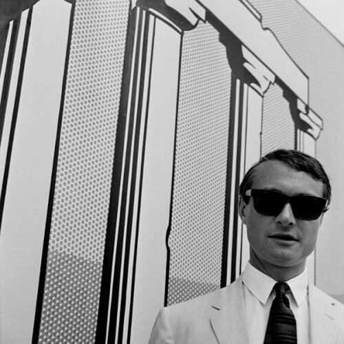 Roy Lichtenstein auf der 33. Biennale, Venedig (1966); Fotografie von Erhard Wehrmann