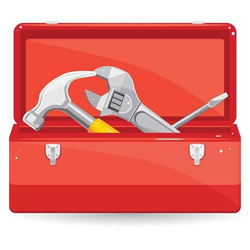 tools, tool box, tool kit