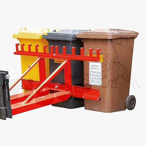 Mülltonnenheber Stapler