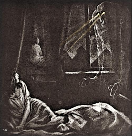 Grau's design for Nosferatu